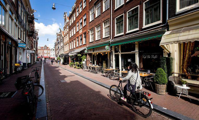 De negen straatjes in Amsterdam. Voor 1500 euro per maand is in Amsterdam een appartement van ongeveer 95 vierkante meter te krijgen. Beeld ANP