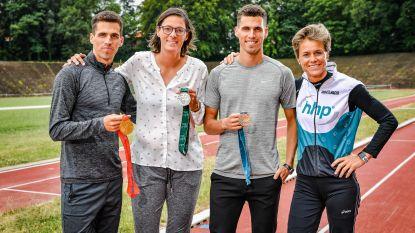 """Jonathan & Kevin Borlée: """"We dromen van medaille"""" – Hellebaut: """"Wie weet win ik ook nog eentje"""""""