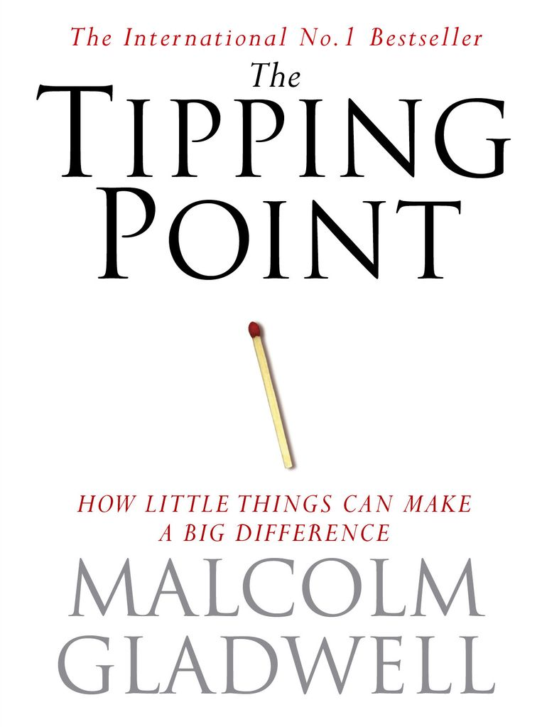 'The Tipping Point' van Malcolm Gladwell. Beeld rv