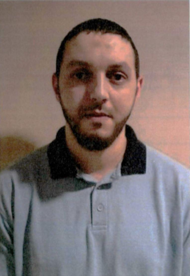 Mohamed Abrini, in de gevangenis van Aarlen. 'Ik denk dat het Najim was die [op de luchthaven] aanbood eerst koffie te drinken.'  Beeld rv