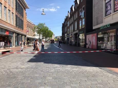 WE in centrum Nijmegen ontruimd na melding gaslucht, winkel inmiddels weer open