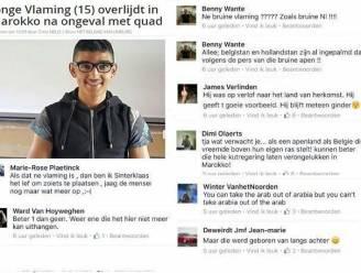 Vlaamse Verdedigings Liga reageert zelf na racistische commentaren op overlijden Ramzi Kaddouri