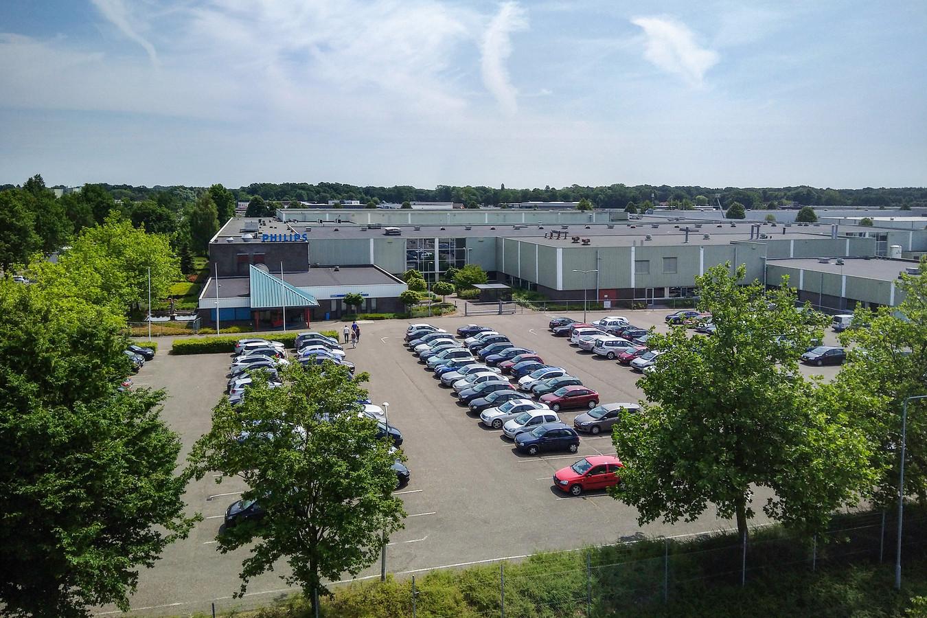 Het terrein van de voormalige Philips-fabriek, foto uit 2017.