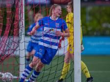 PEC Zwolle Vrouwen halen in vierde poging de eerste zege binnen in poule B van de eredivisie