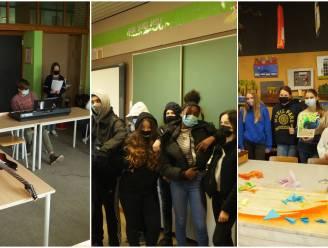 Leerlingen campus De Reynaert genieten van 'Kunstkuur' met de Stedelijke Academies