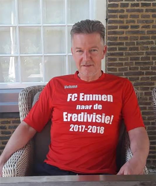 FC Emmen-voorzitter Ronald Lubbers