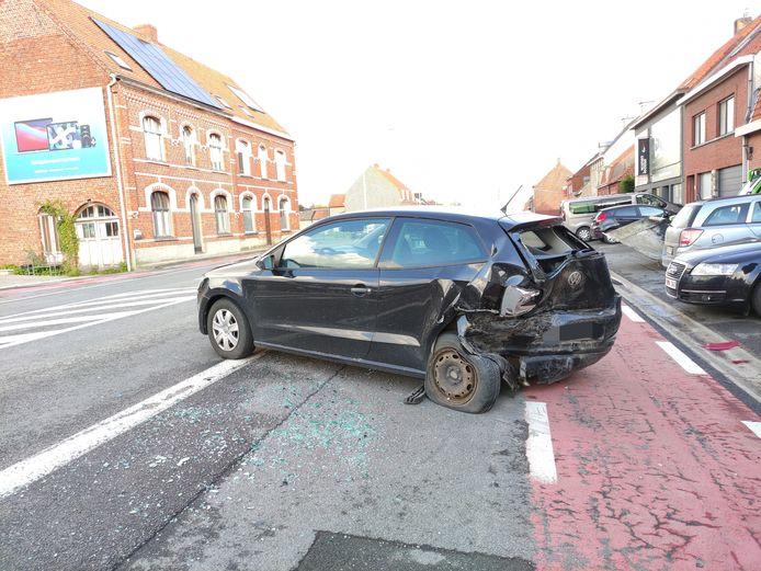 Ongeval Menenstraat Geluveld