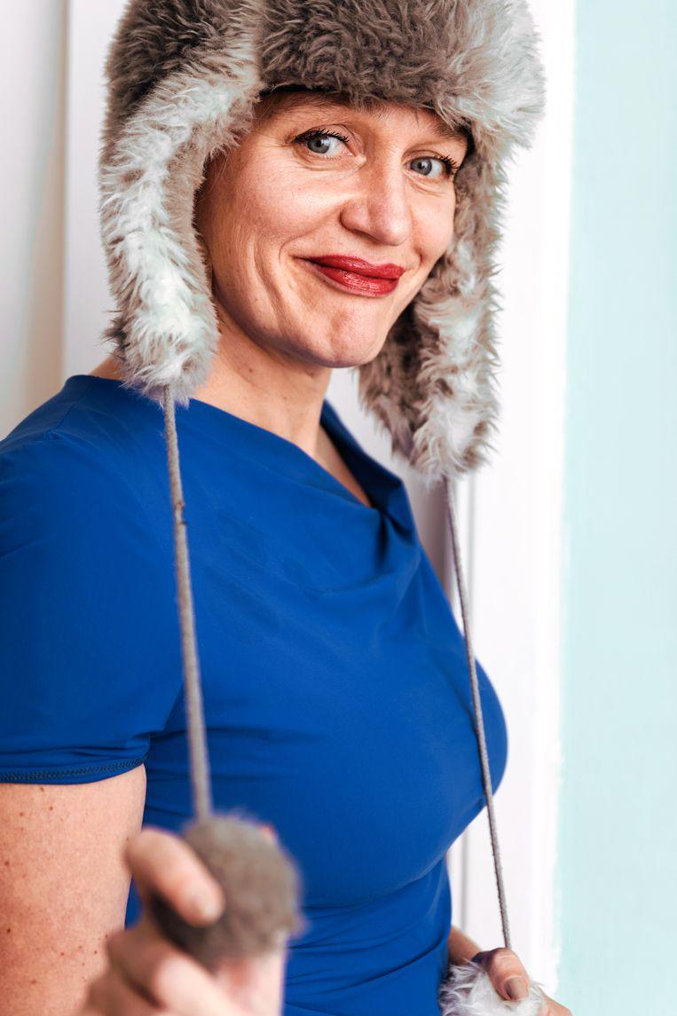 Stella Bergsma: 'Ik heb mijn moeder altijd zéér bewonderd om haar onenightstand met Sean Connery.' Beeld Damon De Backer