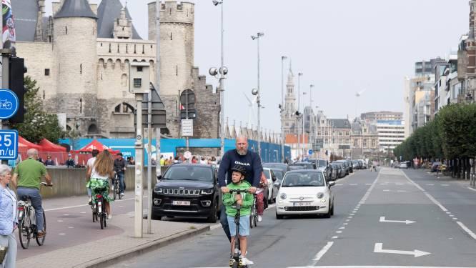 Antwerpse binnenstad voor de 19de keer autoluw tijdens 'Antwerpen Shift'