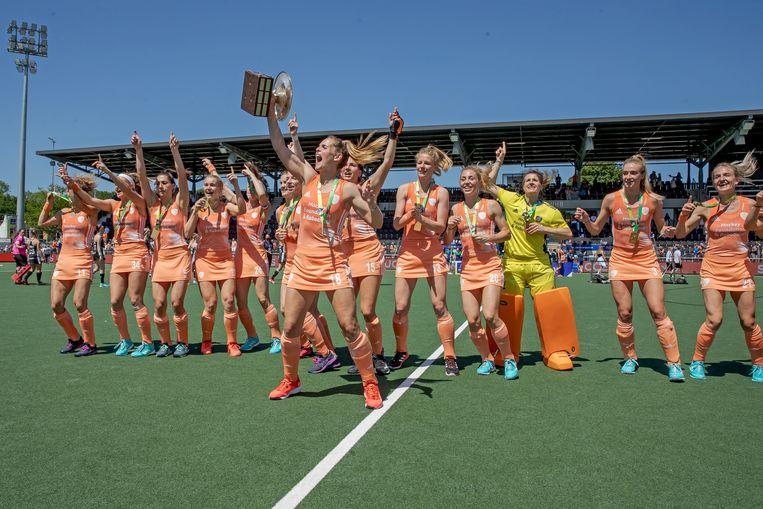 Europees kampioen!  Beeld Getty Images