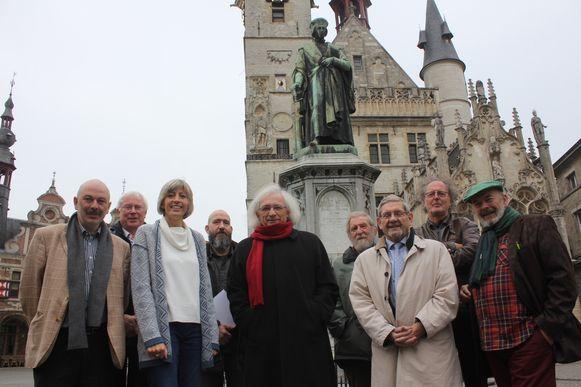Het Dirk Martenscomité bij 'De Zwette Maan'.
