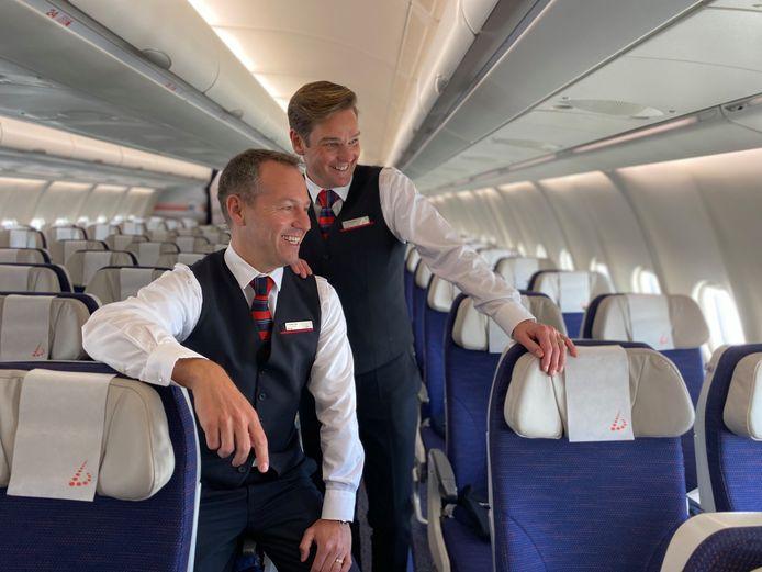 Steven Vander Elst en Marc verlaten de luchtvaartsector en nemen café Luminor in Vilvoorde over.