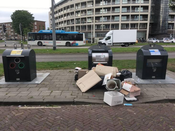Keulse Slag bezaaid met afval: 'Je zou die straat tot Franse Slag kunnen omdopen'