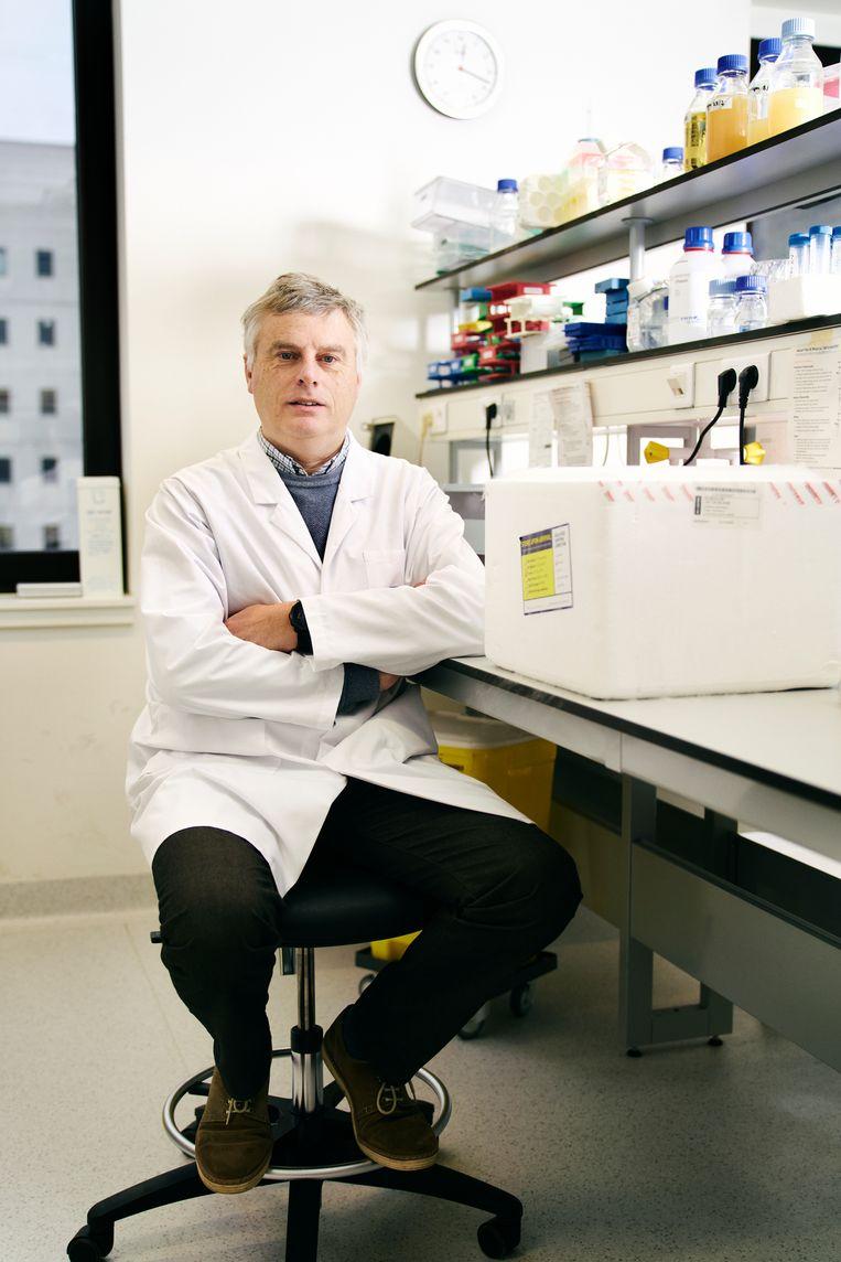 'We moeten aan 70 procent gevaccineerden raken, en het liefst meer, voor we naar het leven van vóór de pandemie terug kunnen.' Beeld Joris Casaer