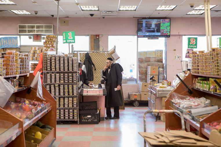 Monsey, Rockland County heeft een grote orthodox-Joodse gemeenschap Beeld Chantal Heijnen