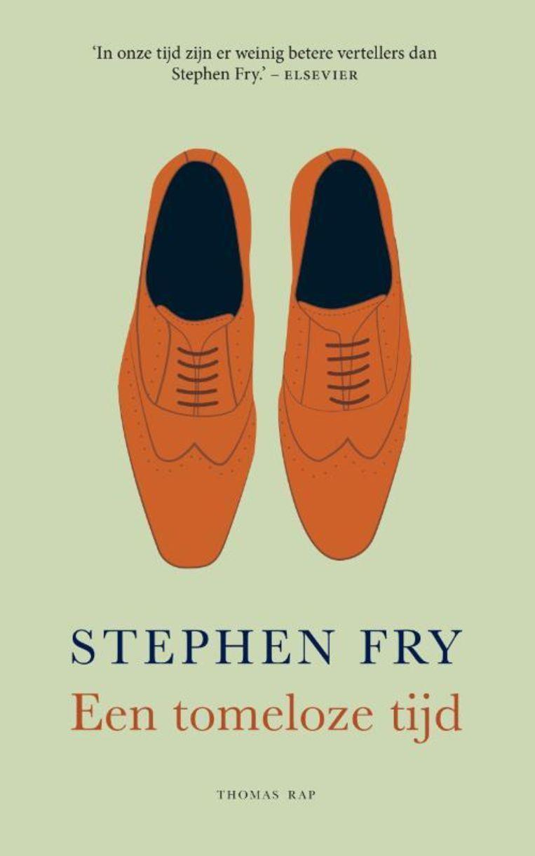 Stephen Fry, 'Een tomeloze tijd', Thomas Rap, 352 p., 22,99 euro. Vertaling Henny Corver.  Beeld rv