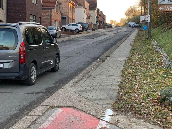 Onder meer aan de Blerebergstraat dringen structurele werken zich op.