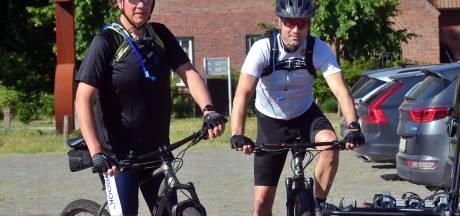 Mountainbikers voorzichtig na staalkabel-incident: 'We willen graag heelhuids thuiskomen'
