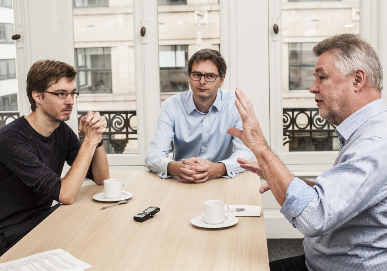 'Onze sociale zekerheid doet meer dan ziekte en werkloosheid opvangen: het heeft van België een rijk land gemaakt '' Beeld Marco Mertens