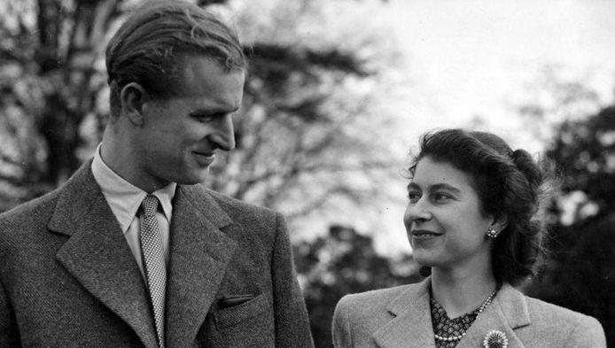 Prins Philip  en Queen Elizabeth II