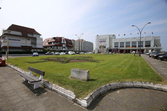 De Canadasquare in Knokke wordt binnenkort omgetoverd tot een kunstplein.