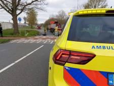 Aanrijding tussen vrachtwagen en fietser in Hengelo, traumahelikopter geannuleerd