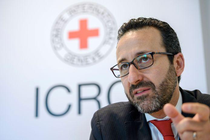 Robert Mardini, regionaal directeur van het ICRC in het Midden-Oosten.