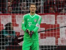 Neuer doet een Sneijdertje bij 'Mannschaft'