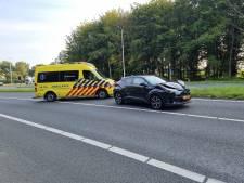Veel schade bij kop-staartbotsing op A18 bij Varsseveld