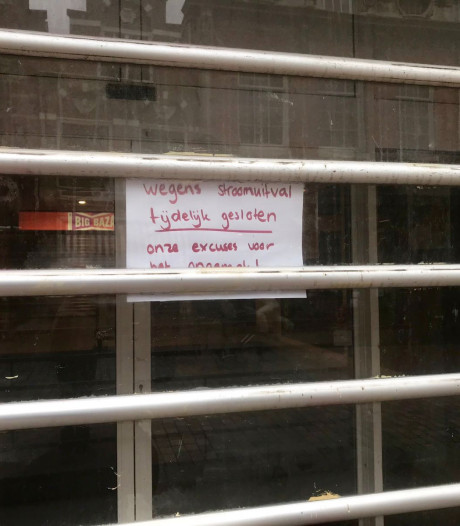 Dordtse Xenos wegens stroomstoring halve dag gesloten