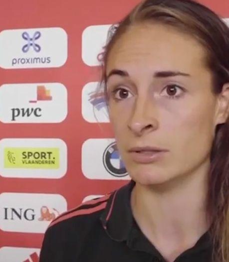"""Tessa Wullaert attend une réaction des Red Flames: """"Prendre nos responsabilités et jouer avec confiance"""""""