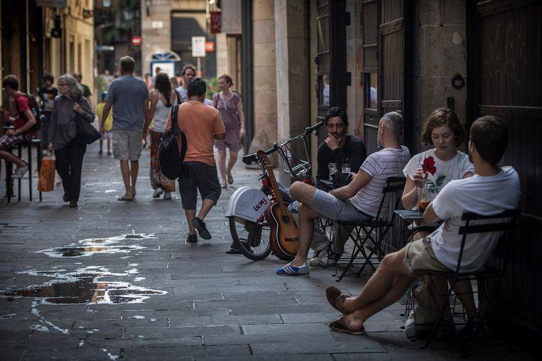 Winkels: 'De gemeente laat wekelijks een onderzoekje naar de stadsreiniging doen, en afgelopen zomer kreeg die vooral in het toeristische centrum een dikke onvoldoende' Beeld Getty Images