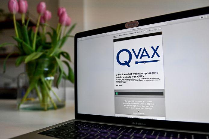 Website van QVAX