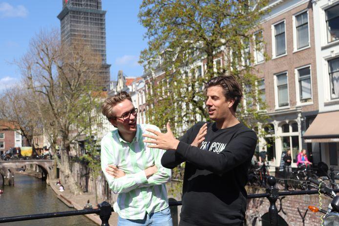 Bastiaan Meijer en Rob Kemps.
