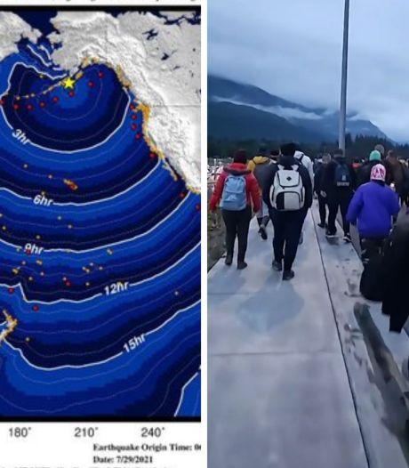 Séisme de magnitude 8,2 au large de l'Alaska: l'alerte au tsunami levée
