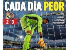 """""""Pire chaque jour"""", """"ridicule"""": le Real dézingué par la presse espagnole"""