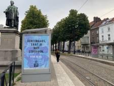 Extinction Rebellion roept Gentenaars via illegale affiches op om te strijden voor het klimaat