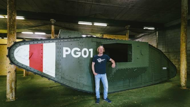"""Paintball Gent bouwt levensechte tank na: """"We wisten wat gedaan tijdens de lockdown"""""""