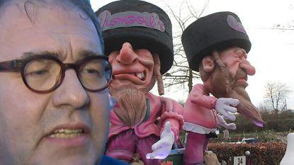 """OPINIE. Aalsters burgemeester D'Haese (N-VA) over commotie joodse praalwagen: """"Ik weiger brave carnavalvierders te laten wegzetten als antisemieten"""""""