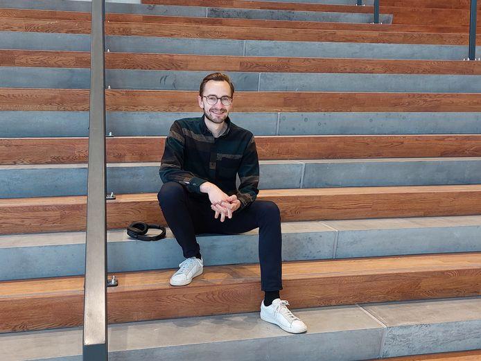 """Peter Hendrikx werkt als tijdelijk projectsecretaris voor Amare: ,,In de verscheidenheid van de bevolking zit ook de kracht van Den Haag."""""""
