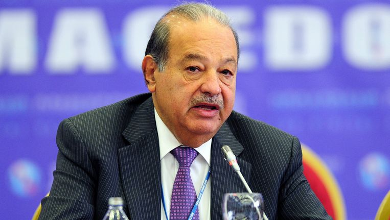 Carlos Slim Beeld epa
