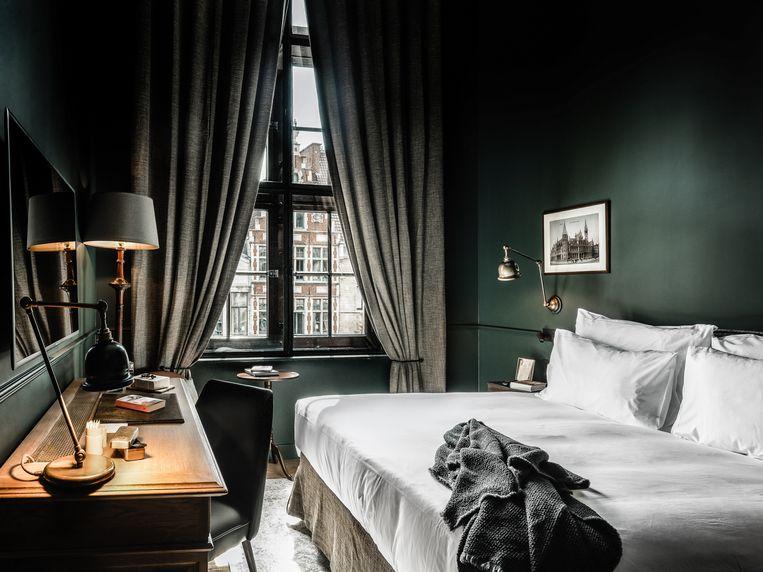 Hotelkamer The Letter. Beeld Alex Stephen Teuscher