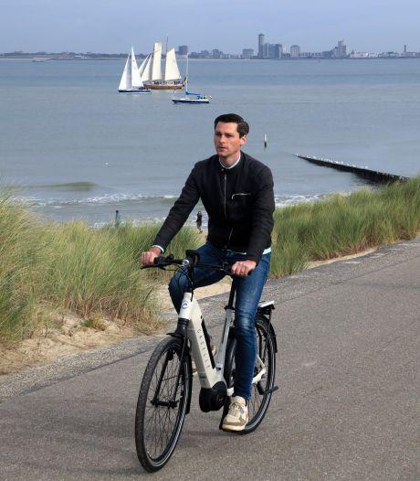 Elektrische fiets huren kan op vier plaatsen in gemeente Sluis en straks misschien in heel Zeeland
