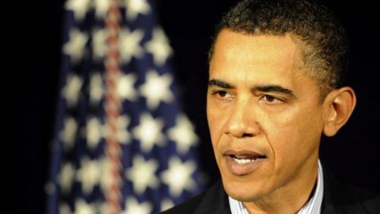 Obama denkt dat de terreurbeweging al-Qaeda op het Arabische Schiereiland (AQAP) achter de mislukte aanslag op het vliegtuig naar Detroit zat. Foto ANP Beeld