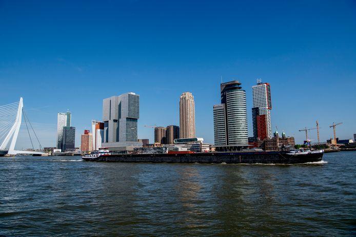 De skyline van Rotterdam, een voorbeeld voor Eindhoven?
