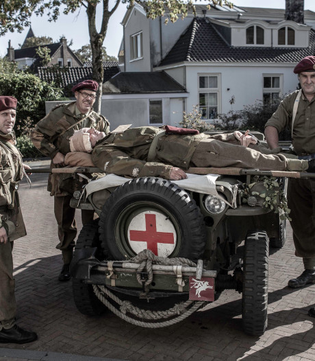 Concertzaal Oosterbeek als militair noodhospitaal: 'We willen de sfeer van toen oproepen'
