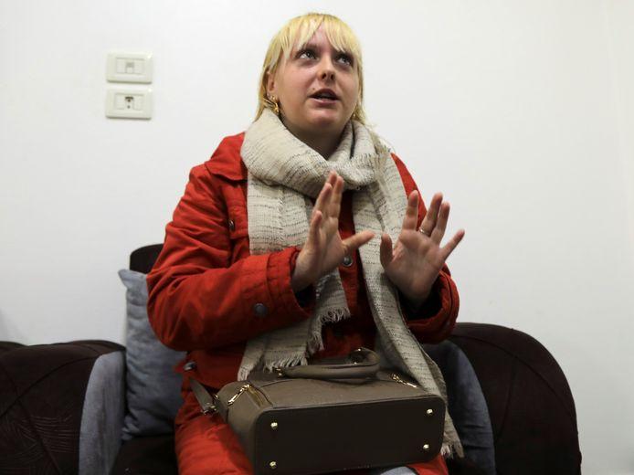 Cassandra Bodart wees de IS-ideologie uitdrukkelijk af en liep als één van de enige vrouwen ongesluierd door de kampen.