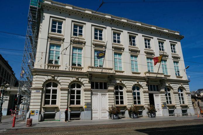 Het hedendaags en moduleerbaar gebouw zal opgetrokken wordt tussen het Brussels Info Palace en Bozar, waar het zichtbaar zal zijn vanaf het Paleizenplein.
