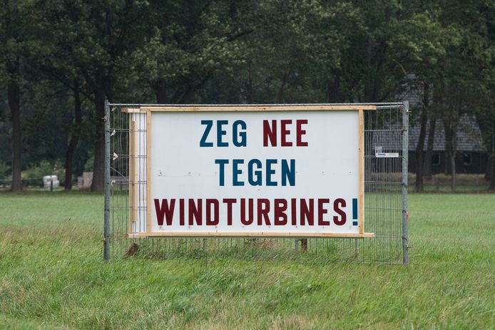 Op veel plekken is gebrek aan draagvlak voor windmolens.