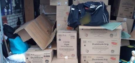 2000 kilo zwaar, illegaal vuurwerk ontdekt in woonwijk Enschede